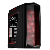 SST-PM01BR-W (black with red LED + window) Plastic outer shell, steel body