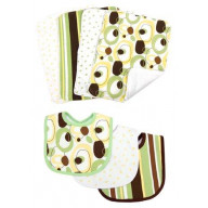 Bouquet Set - Lily - Bib & Burp Cloth