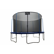 """""""SKYTRIC"""" 15 FT. Trampoline with Top Ring Enclosure System equipped with the """" EASY ASSEMBLE FEATURE"""