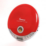 Personal MP3/CD Player - Red