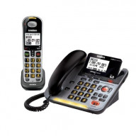 Loud & Clear DECT 6.0 Corded/Cordless Phone with Digital Answering System & Amplified Audio