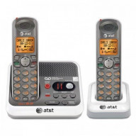 DECT6.0 2-Handset Answering System with Call Waiting Caller ID