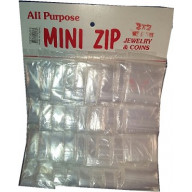 2 x 2 Mini ziplock bags 36 packs of 12 reclosable