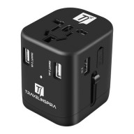 Travel Adapter with 4 USB