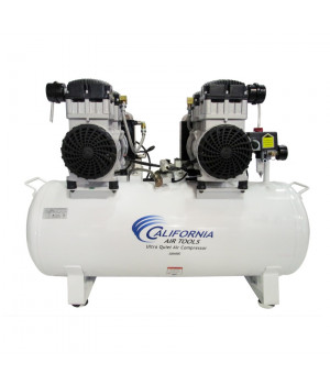 California Air Tools 20040DC Ultra Quiet & Oil-Free 4.0 Hp, 20.0 Gal. Steel Tank Air Compressor with Air Drying System (220V 60HZ)