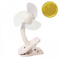 Stroller Fan- White
