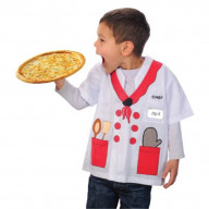 Aeromax My 1st Career Gear Chef, Easy to put on shirt fits most ages 3 to 6