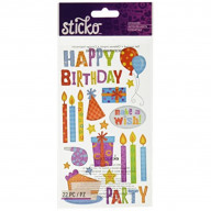 Sticko Birthday Party Stickers