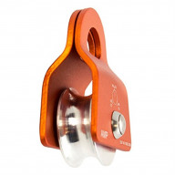 Fusion Climb Ekat Micro Aluminum Side Swing Pulley Orange 20KN