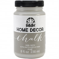 FolkArt Home Decor Chalk Furniture & Craft Paint in Assorted Colors (8 Ounce), 34168 Castle