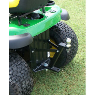 Lawn-Pro Lawnmower Hi-Hitch - (accepts trailer hitch ball and hitch pin attachments)