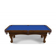 Hainsworth Classic Series - Euro Blue Pool Table Cloth - 9'