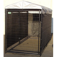 5' x 25' Lucky Dog Winter Screen Kit side cloth