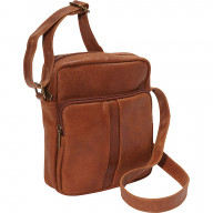 Leather Mens Day Bag - DS-1505-TN