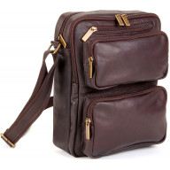 Multi Pocket IPad/E-Reader Bag - LD-083-Cafe