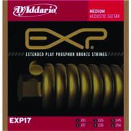 D'addario Medium Phosphor Bronze Acoustic Strings
