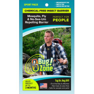 0Bug! Zone PEOPLE SPORT PACK (MOSQUITO, FLY, NO-SEE-UM)