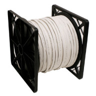 RG59 Siamese Cable with 18/2 Power and 24/2 DATA, 500ft, White