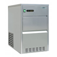 110 lbs Automatic Stainless Steel Ice Maker