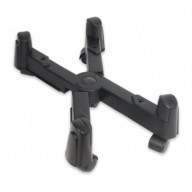 CPU Stand for ATX Case, Plastic, Black Color, Adjustable Width
