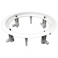 OEM Systems Round Baffle Board & Frame, 6.5 In.
