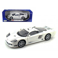 Saleen S7 1/18 Black Diecast Car Model By Motormax