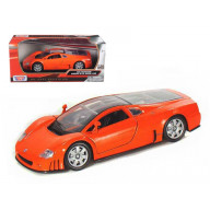 Volkswagen Nardo W12 Orange 1/24 Diecast Car Model By Motormax