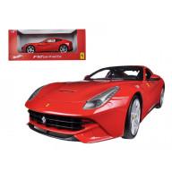 Ferrari F12 Berlinetta Red 1/18 Diecast Car Model By Hotwheels