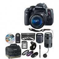 T6I Camera 18-55Mm With 11 Piece Accessory Kit - Xtra Lens 6473A003