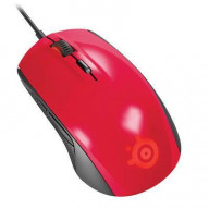 Rival 100 Mouse Red