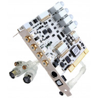 4-In/4-Out Pci Audio Interface With Swappable I/O Socket