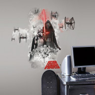 Star Wars The Force Awakens Ep Vii Villians Burst P&S Giant Wall Decal