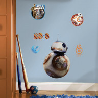 Star Wars The Force Awakens Ep Vii Bb-8 P&S Giant Wall Decal