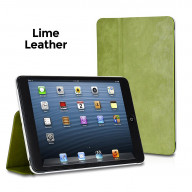 Xtrememac Microfolio Leather Lime Case For Ipad Mini