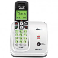 Dect 6.0 Expandable Cordless Speakerphone With Caller Id, Silver/Black