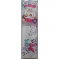 Violetta Wall Graphix Peel And Stick Giant Wall Decals
