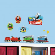 Thomas And Friends Racing Peel And Stick Wall Decals
