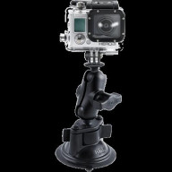 Twist Lock Suction Cup Mount-Gopro