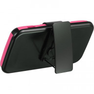 ZTE SOURCE N9511 HYBRID CASE HOT PINK SKIN+BK PC WITH H-HSCZTESOUBKHP