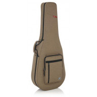 Transit Series Dreadnought Guitar Case in Tan