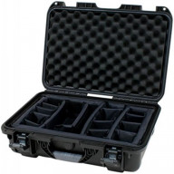 Waterproof case w/ divider system; 17