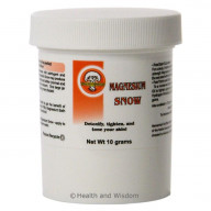 Magnesium Snow USP - Cleanses & tightens ~ Great for Facials, Teeth, and Baths! - 571010