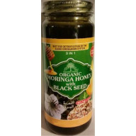 Organic Moringa Honey With Black seed
