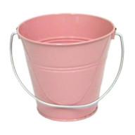 Italia Metal Bucket Party Favor Pink 4.3x4.3