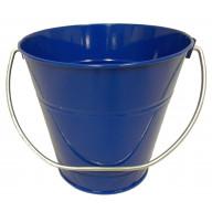Italia Metal Bucket Party Favor Royal Blue 4.3x4.3
