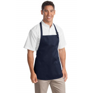 Port Authority 174 Medium-Length Apron with Pouch Pockets. A510