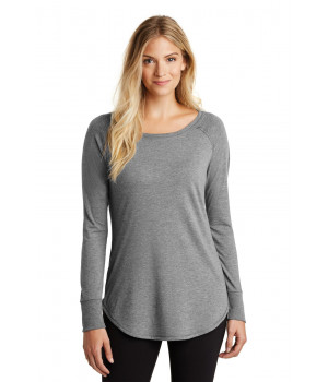 District Made 174 Ladies Perfect Tri 174 Long Sleeve . DT132L
