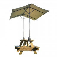 ShadeLogic Quick Clamp Canopy, Tilt Mount, Expandable to 10'