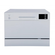 Countertop Dishwasher with Delay Start & LED - Silver