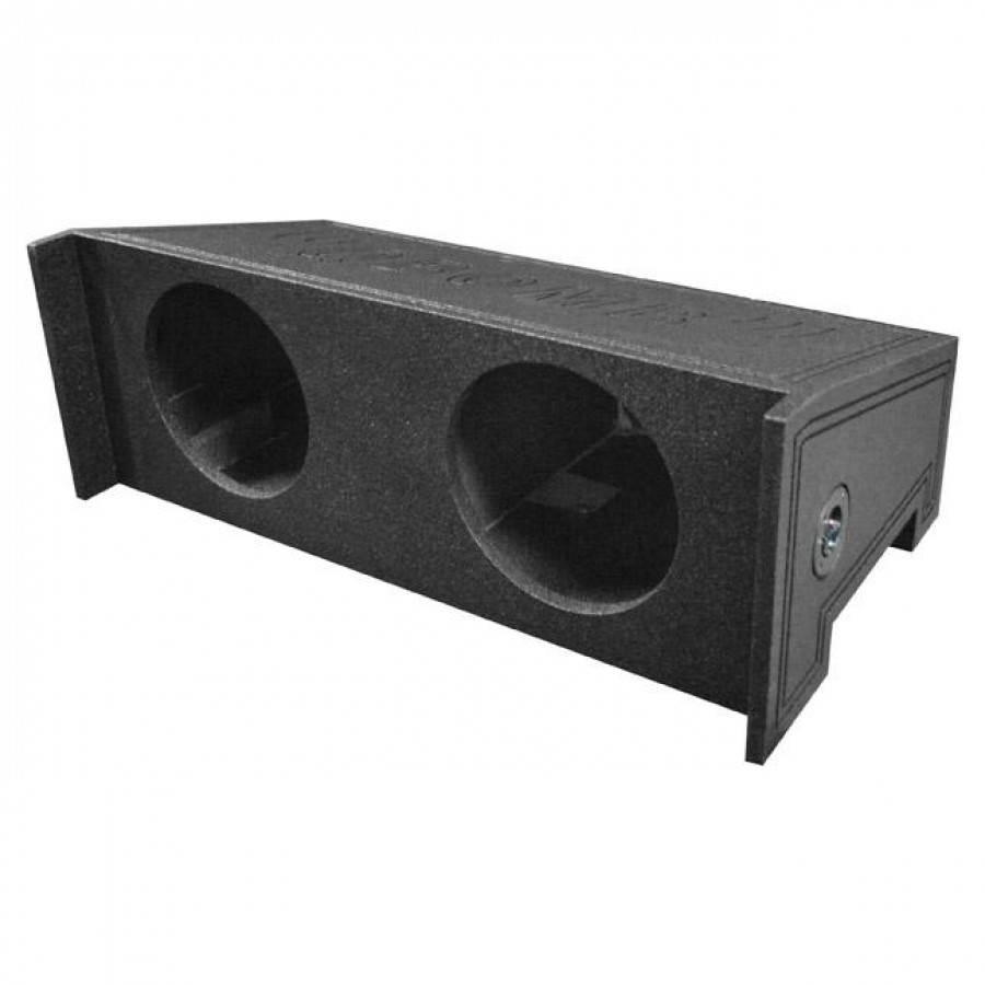 Qpower Bomb Dual 10 Woofer Box For All Years Jeep Wrangler Cj5 Cj7 Subwoofer